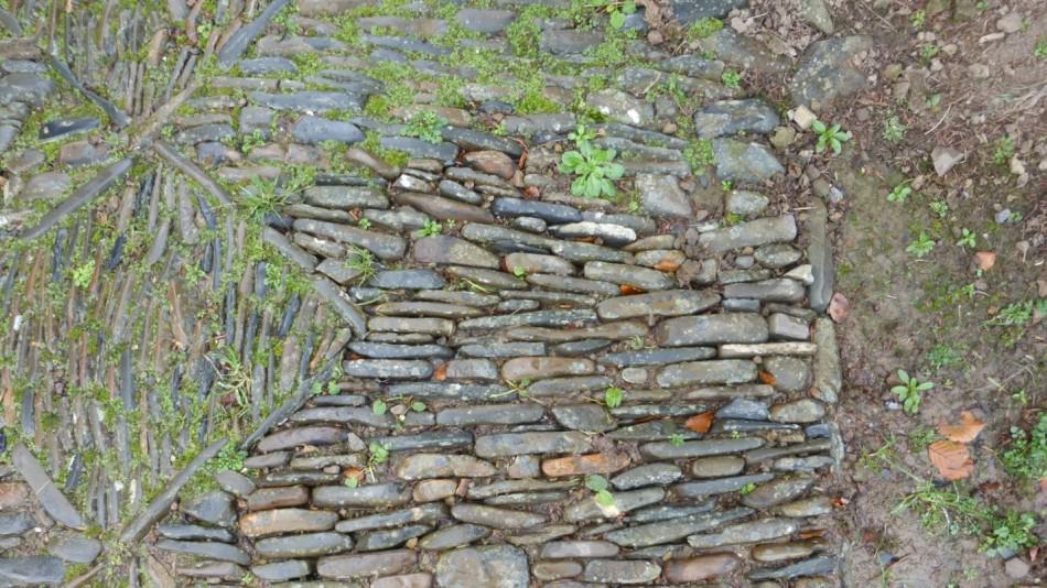 Weeded cobbles