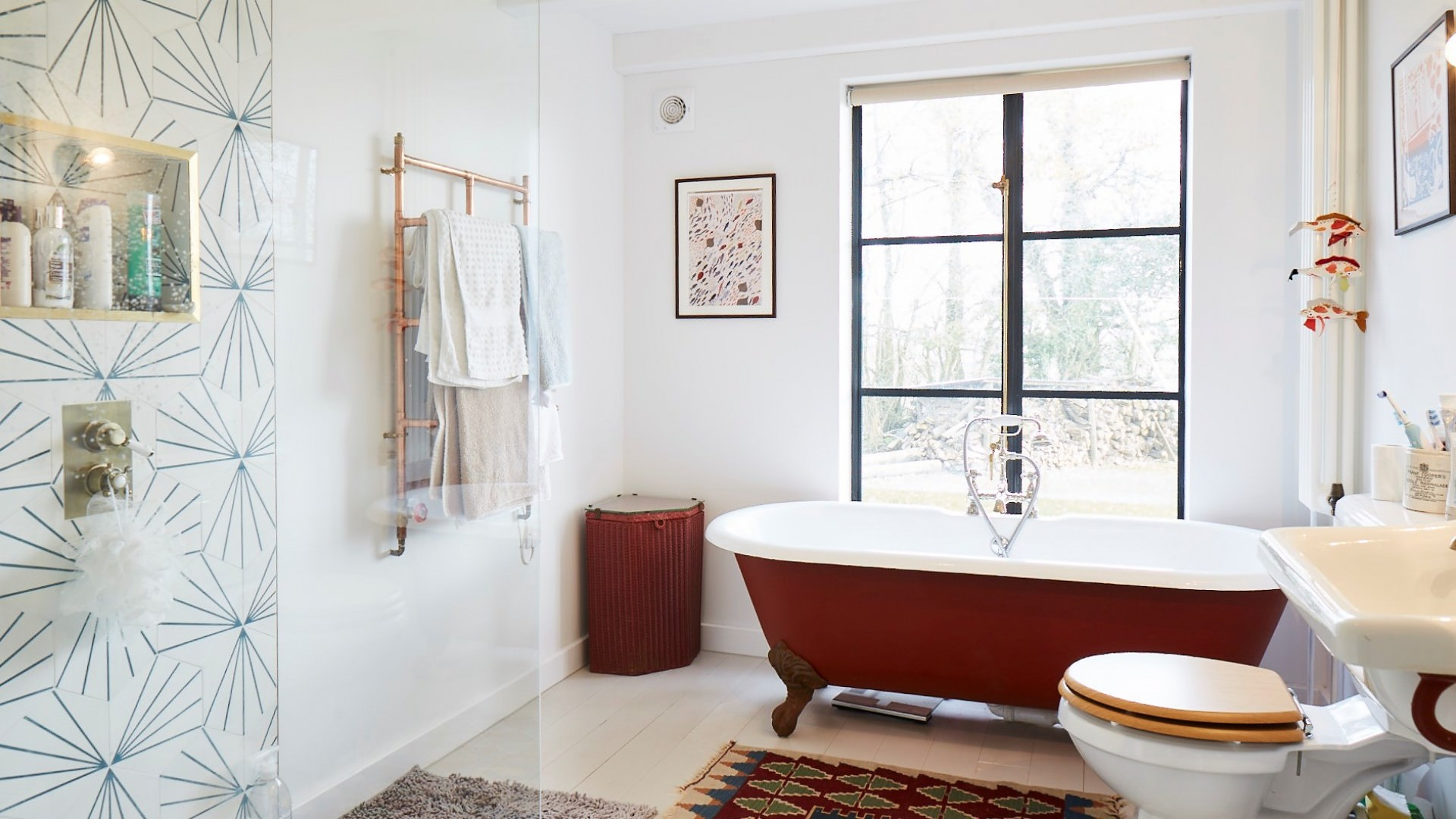 4 architects barn conversion bathroom