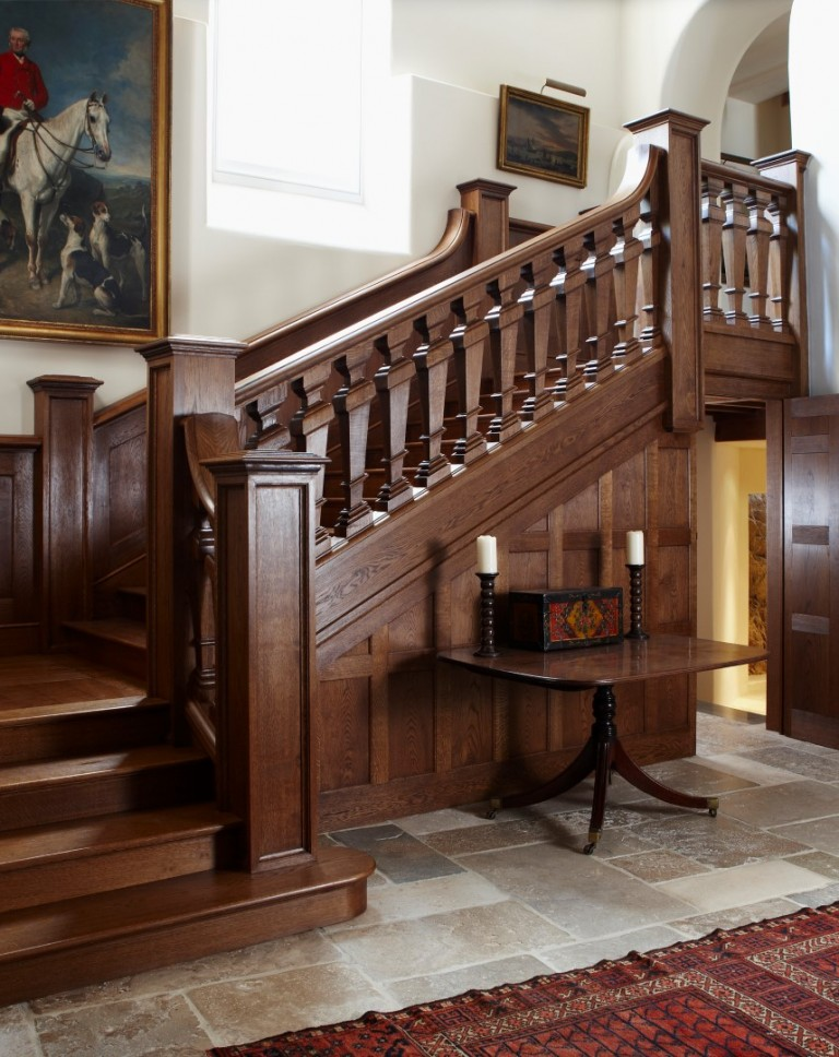 Devon Country House Staircase