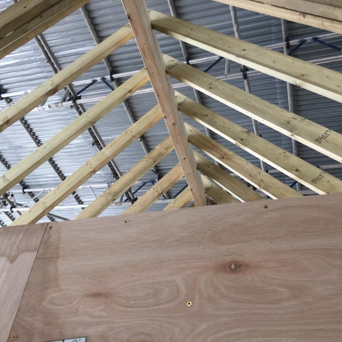 Extension to Manor roof structure v2