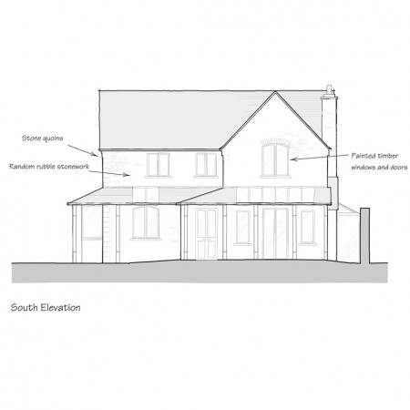 Proposed elevation period style house thumbnail