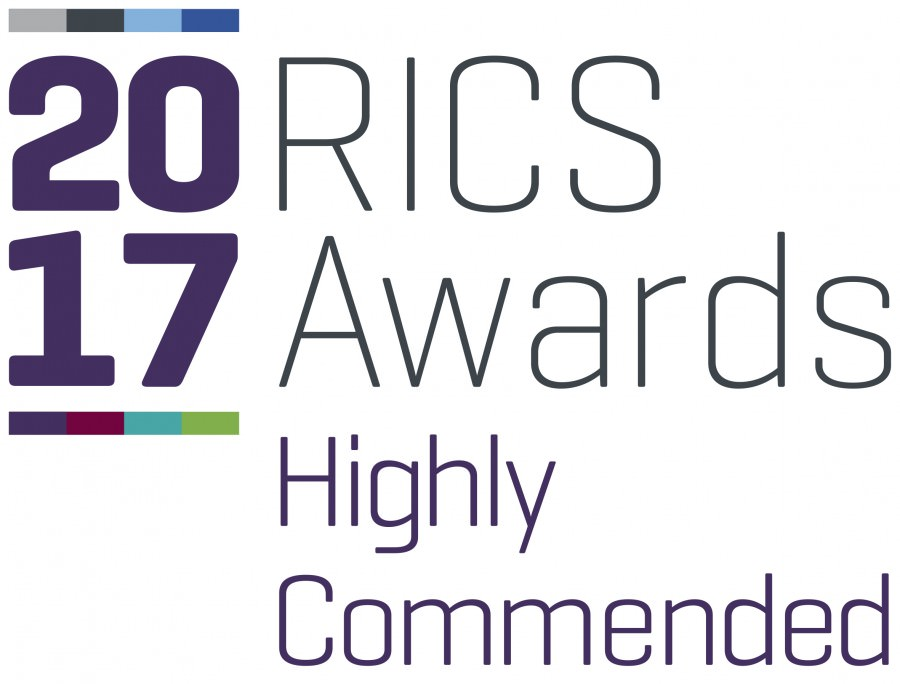 RICS 2017 awards logo commended