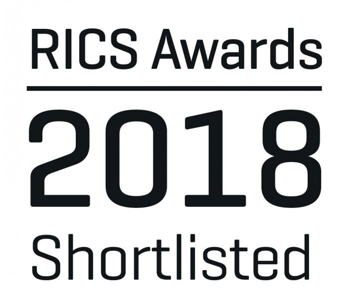 RICS Awards 2018 Shortlisted Logo Black