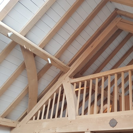 carpenter oak cpd timber frame detail
