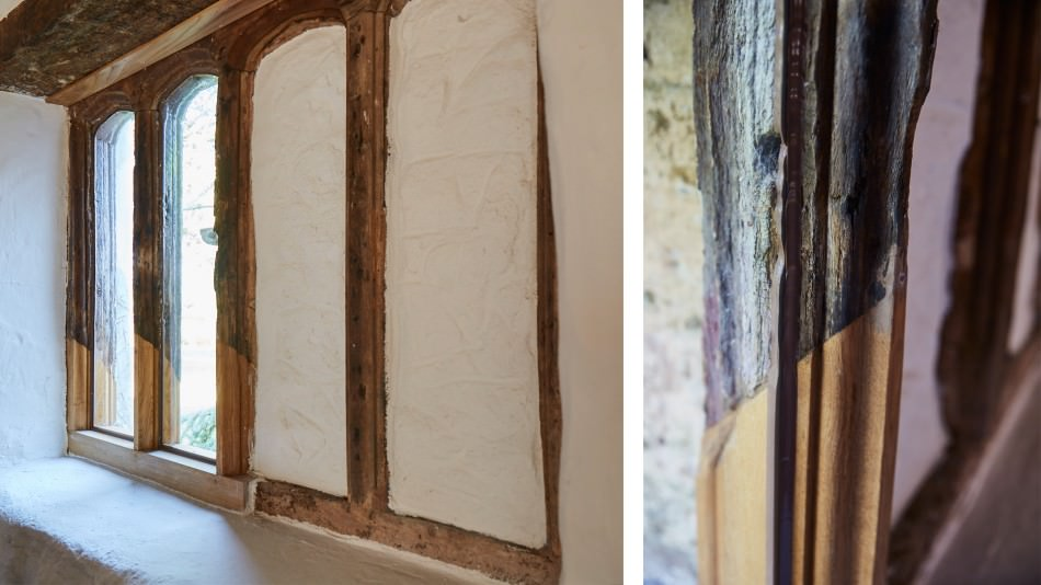 Holcombe medieval window repairs
