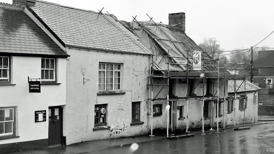 The Farmers arms before conservation