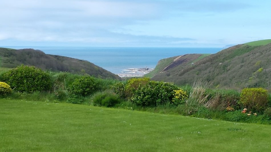 Views of Hartland coast