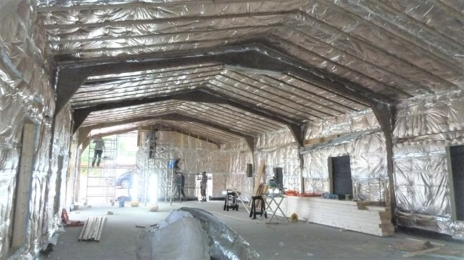 barn insulation sustainable design