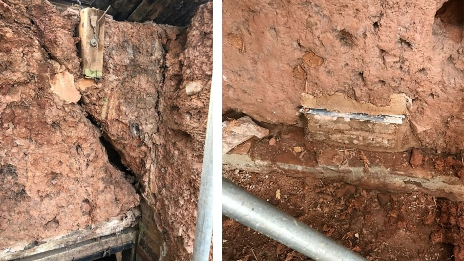 cob barn repairs structural defect and slate